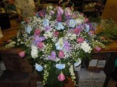 Mixed Flower (C25) Casket Spray