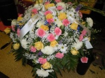 Mixed Flower (C27) Casket Spray