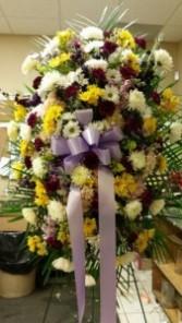 STANDING SPRAY  Funeral Flowers