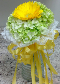 Mixed Flowers Handheld Bouquet