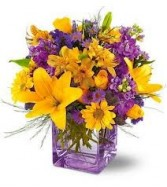 GW 1-Mixed flowers in a compact arrangement  in Philadelphia, Pennsylvania | CARL ALAN FLORAL DESIGNS LTD.