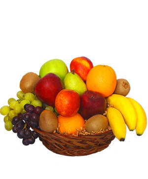 MIXED FRUIT BASKET Gift Basket in Coconut Grove, FL | Luxury Flowers