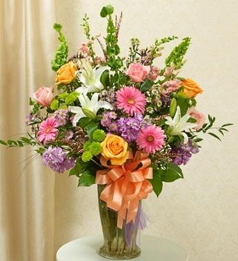 Mixed Garden Bouquet Funeral Flowers