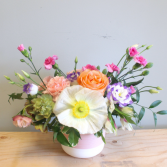 Mixed Garden Style Arrangement