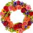 Mixed Garden Wreath Permanent Wreath