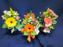 Mixed Ginger Jar Vases, $20.00  Minimum of two arrangements per delivery address