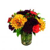 Mixed Orange Flowers