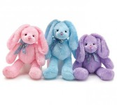 MIXED PLUSH FOR EASTER BUNNIES, BEARS, MONKEYS, DOGS AND CATS