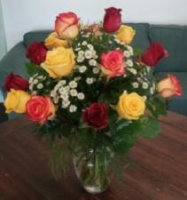Mixed Rose Arrangement