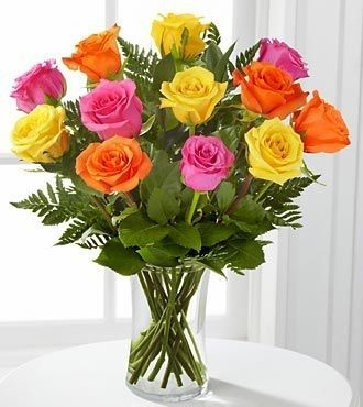 Mixed Rose Arrangement fresh floral arrangement