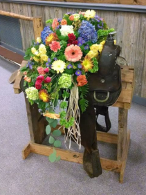 Mixed Sympathy Arrangement Saddle