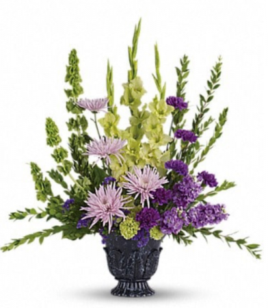 Mixed urn spray  Funeral