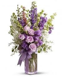 SA 1-Mixed vase arrangement Flowers and colors may vary