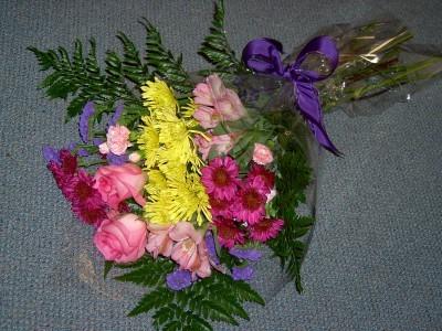 Mixed Wrap of Flowers Seasonal Flowers