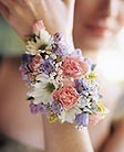 Mixed Pastel Floral Wrist Corsage