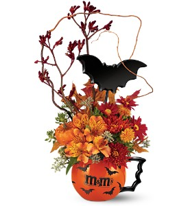 M&M's Batmug Fall Bouquet