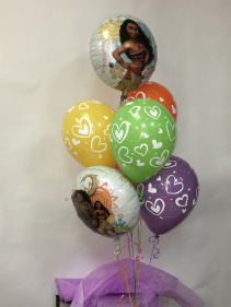 MOANA you're the best Balloons
