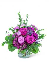 Mod Magenta Flower Arrangement