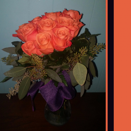 Modern Bouquet  Roses
