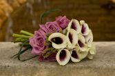 Modern Calla Lilies Bridal Bouquet