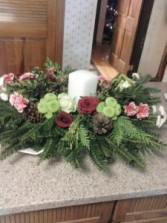 Modern Christmas Centerpeice Holiday