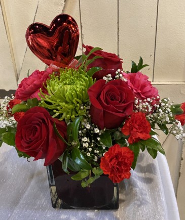 Modern Day Romance Floral Arrangement