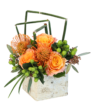 Modern Day Romance Flower Arrangement in Yankton, SD | Pied Piper Flowers & Gifts