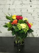 modern flower vase