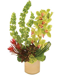 Modern Green Arrangement