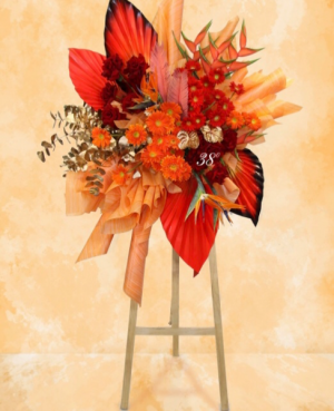 Modern High End Standing Spray   in Ozone Park, NY | Heavenly Florist