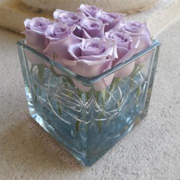 Modern Lavender Roses