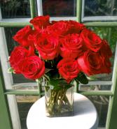 Modern Love times two! vase arrangement