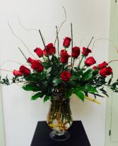 Modern Love Vase Arrangement