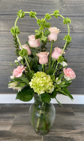 Modern Love Vase Arrangement