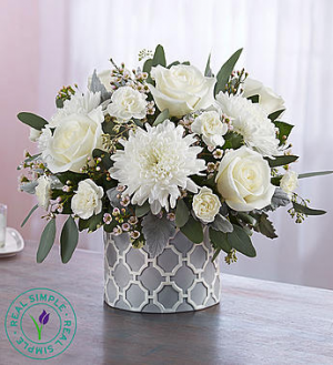 Modern Purity by Real Simple®  in Valley City, OH | HILL HAVEN FLORIST & GREENHOUSE