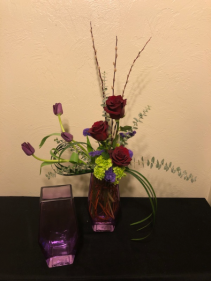 Modern Romance Keepsake Arrangement