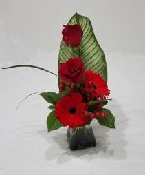 Modern Romance Vase Arrangement
