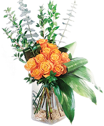 Modern Rose Bouquet Floral Arrangement