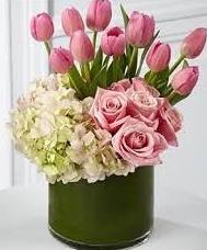 MODERN ROSE ELEGANT MIXTURE OF FLOWERS