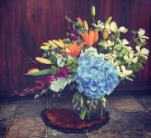 Modern Softness Vase Arrangement