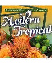 Modern Tropical Flowers Premium Designer's Choice