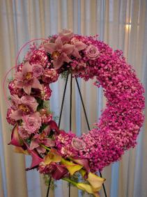 Modern Wonder Wreath