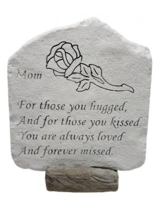 Sympathy Stone - Mom - For Those You Hugged