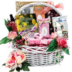 Mom is Number 1 Basket Gift Basket