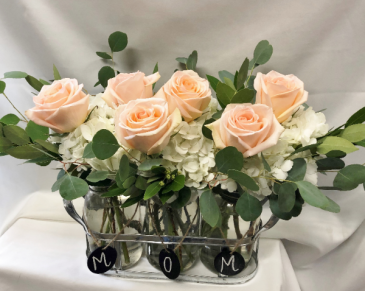 Mom is So Peachy Fresh Floral Design