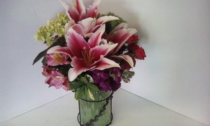 Fragrant Beauty Vase Arrangement
