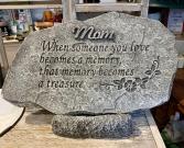 Mom Memorial Stone Memorial Stone