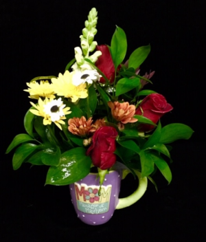 MOM Mixed Floral Design in Plainview, TX | Kan Del's Floral, Candles & Gifts