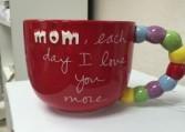 Mom Mug Red