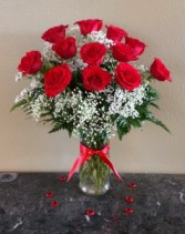 Mom & Pop's Classic  Dz Red Roses Exclusively at Mom & Pops